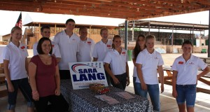 Sara Lang and Youth Council