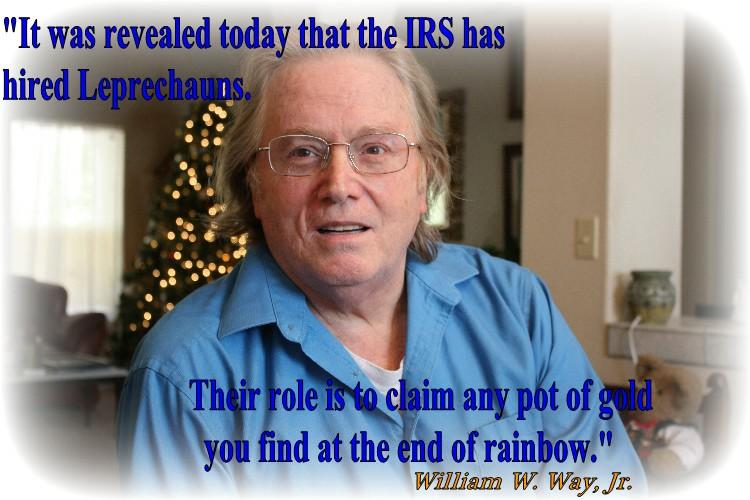 IRS leprechauns